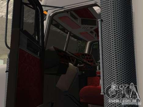 Freightliner FLD120 Classic XL Midride para GTA San Andreas vista traseira