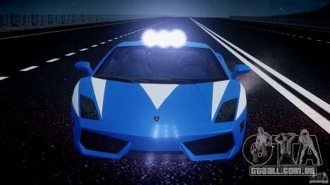 Lamborghini Gallardo LP560-4 Polizia para GTA 4 rodas