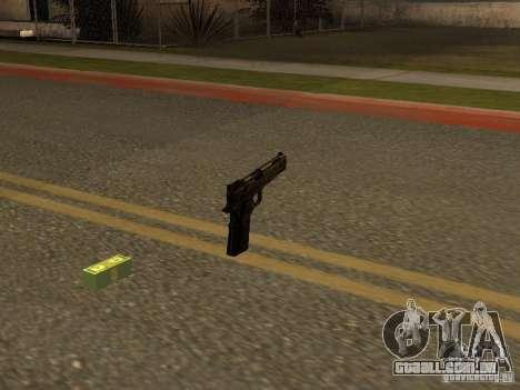 Pistola 9 mm para GTA San Andreas segunda tela