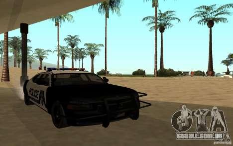 Dodge Charger Police para GTA San Andreas vista direita
