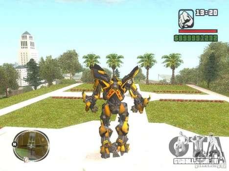 Bumblebee 2 para GTA San Andreas segunda tela