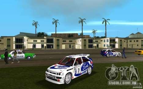 Ford Escort Cosworth RS para GTA Vice City