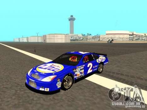 Ford Taurus Nascar LITE para GTA San Andreas esquerda vista