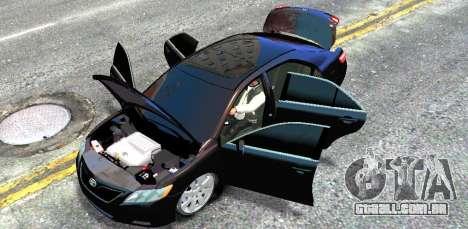 Toyota Camry V6 3.5 2007 para GTA 4