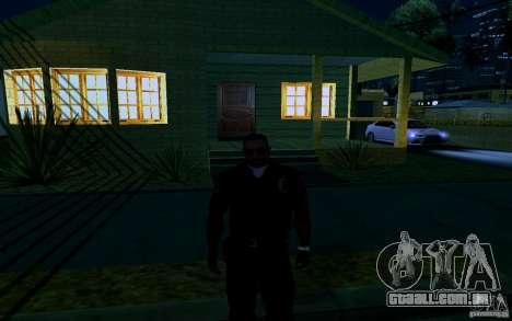 Nova casa grande robô para GTA San Andreas décima primeira imagem de tela
