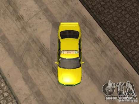 Toyota Camry Thailand Taxi para GTA San Andreas vista traseira