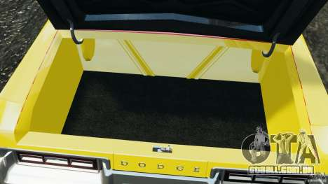 Dodge Monaco 1974 Taxi v1.0 para GTA 4 vista inferior