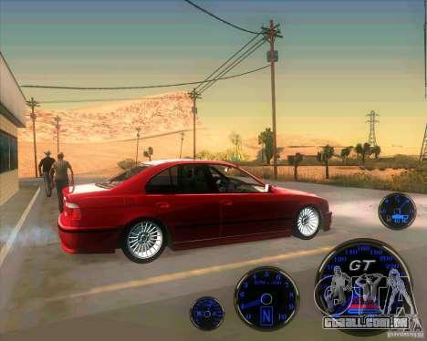 BMW E39 530d Sedan para GTA San Andreas esquerda vista