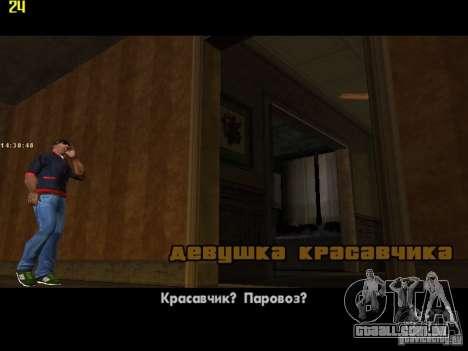 GTA IV  San andreas BETA para GTA San Andreas nono tela