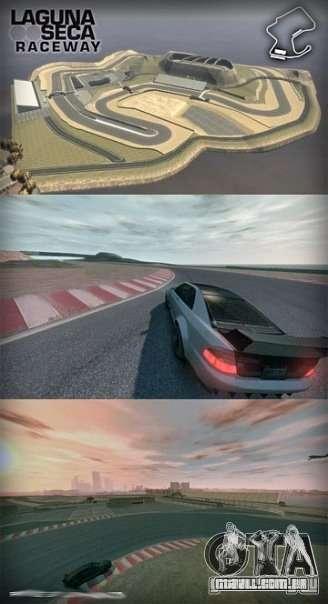 Laguna Seca ( Final ) para GTA 4 terceira tela