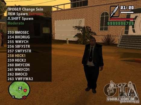 GTA IV peds to SA pack 100 peds para GTA San Andreas sexta tela
