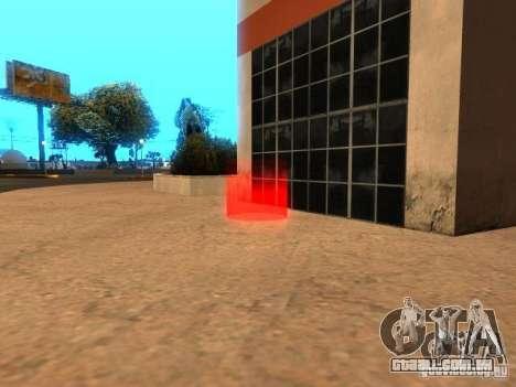 Concerto do AK-47 v 2.5 para GTA San Andreas terceira tela