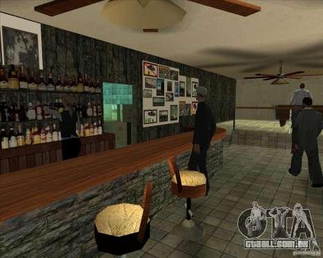 Novas amostras de Lil taverna para GTA San Andreas quinto tela