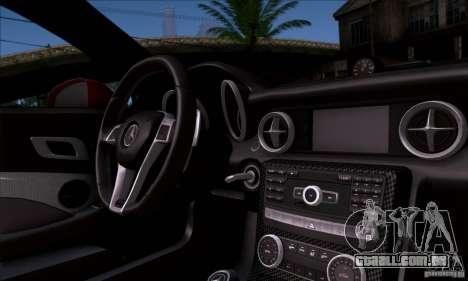 Mercedes Benz SLK55 R172 AMG para GTA San Andreas vista traseira