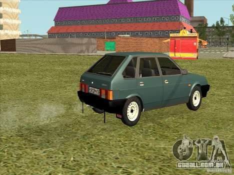 VAZ 2109 Final para GTA San Andreas esquerda vista