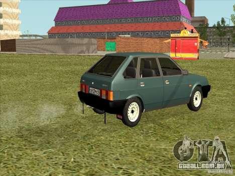 VAZ 2109 Final para GTA San Andreas esquerda vista