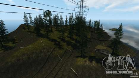 The Loggers Point para GTA 4 quinto tela