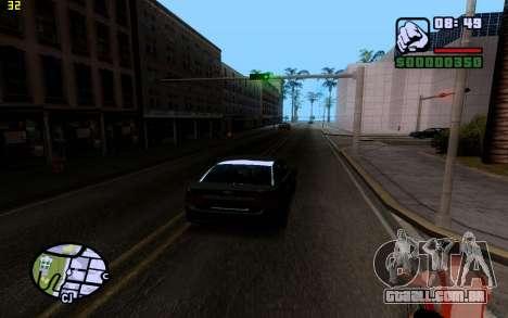 ENBSeries by VadimSpiridonov para GTA San Andreas por diante tela