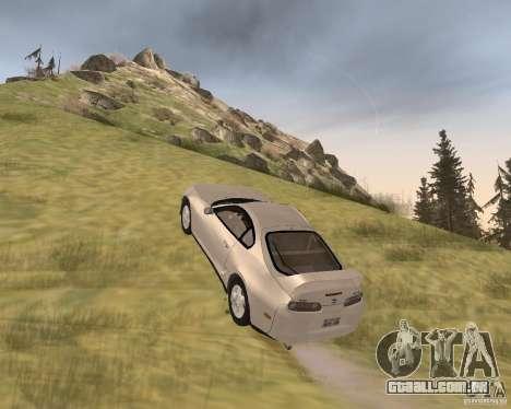 Toyota Supra 3.0 24V para GTA San Andreas vista direita