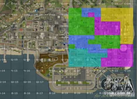 Mapa de San Andreas com atualização v7 para GTA San Andreas segunda tela