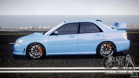 Subaru Impreza STI para GTA 4 esquerda vista