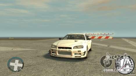 Nissan Skyline GTR R34 Mine s para GTA 4