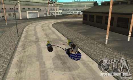 Star Wars Racer para GTA San Andreas traseira esquerda vista