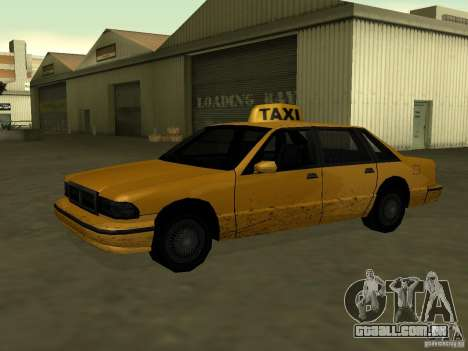 Textura realista do carro original para GTA San Andreas