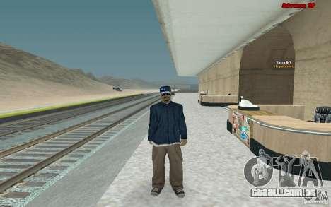 Novas skins para gangue Varios Los Aztecas para GTA San Andreas segunda tela