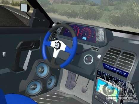 LADA 21103 Maxi para GTA San Andreas vista traseira