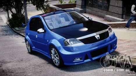 Dacia Logan 2008 [Tuned] para GTA 4 vista interior