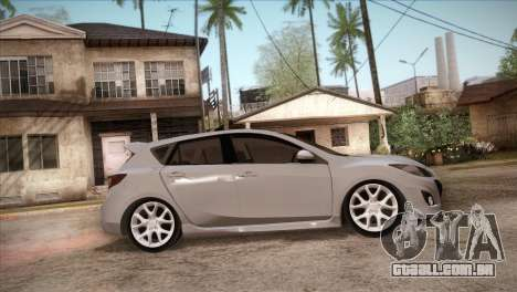 Mazda Mazdaspeed3 2010 para GTA San Andreas vista superior