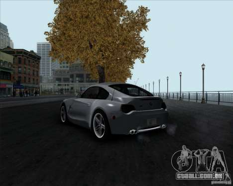 BMW Z4M para GTA San Andreas esquerda vista