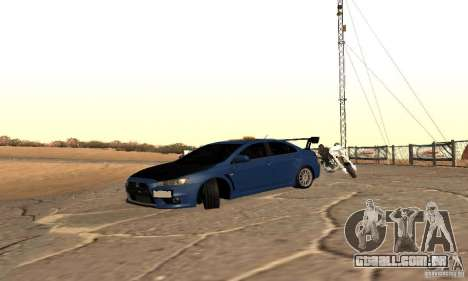 New Drift Zone para GTA San Andreas terceira tela