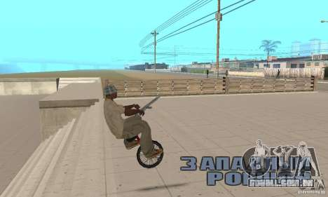 Unicycle para GTA San Andreas