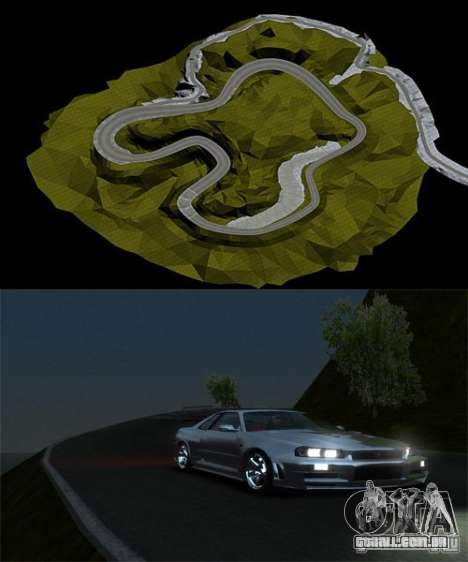 Rocky Drift Island para GTA 4