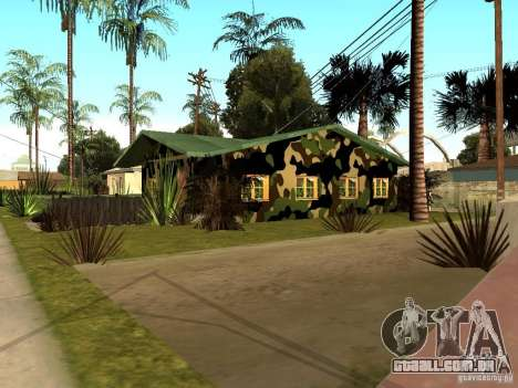 Casa nova de Denis para GTA San Andreas segunda tela