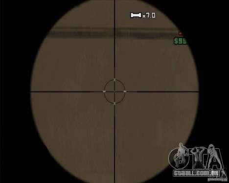 Sinos e assobios para armas para GTA San Andreas oitavo tela