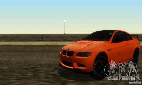 Ultra Real Graphic HD V1.0 para GTA San Andreas por diante tela