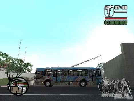 Marcopolo Torino GV Trolebus para GTA San Andreas esquerda vista
