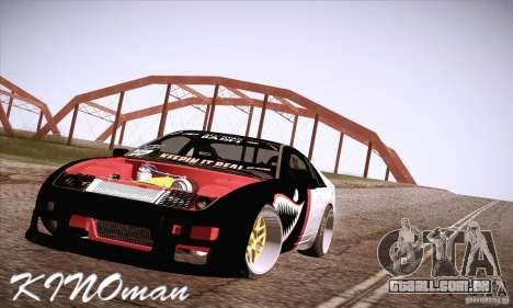 Nissan 300ZX Z32 para vista lateral GTA San Andreas