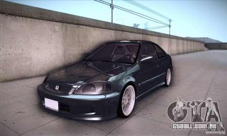 Honda Civic 6Gen para GTA San Andreas