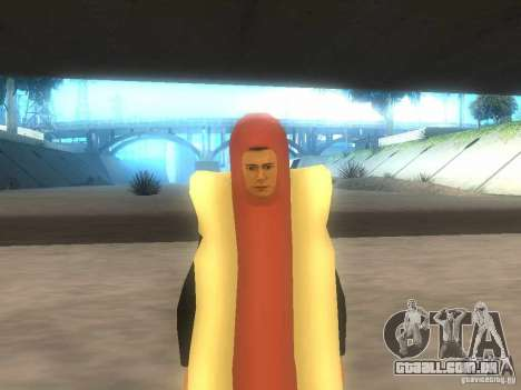 Salsicha de homem para GTA San Andreas