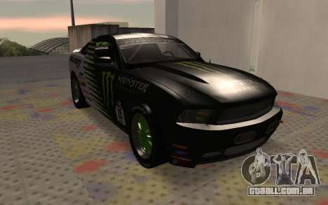 Ford Mustang GT Falken Monster 2010 v2.0 para GTA San Andreas