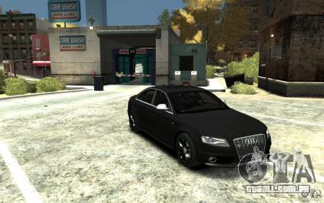 Audi S4 2010 v.1.0 para GTA 4 vista de volta