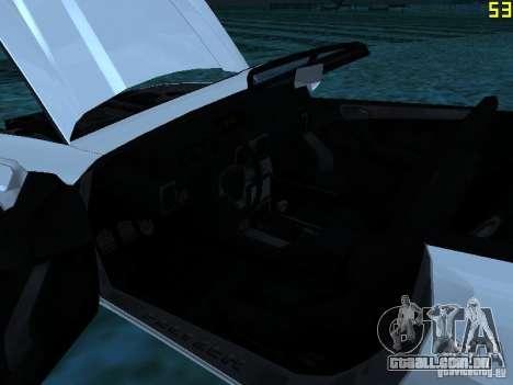 GTA IV Feltzer para GTA San Andreas vista traseira