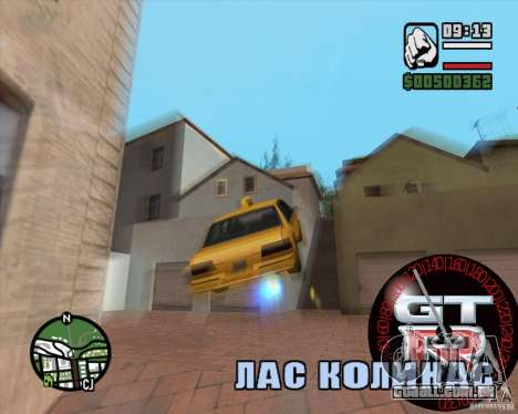 Velocímetro GT-R para GTA San Andreas terceira tela
