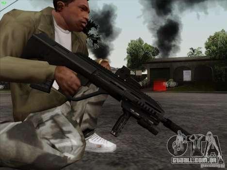 AUG-A3 Special Ops Style para GTA San Andreas por diante tela