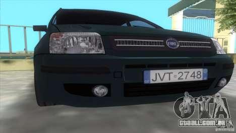 Fiat Panda 2004 para GTA Vice City vista direita