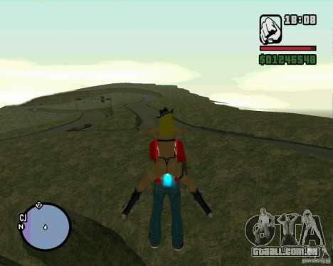 Ebisu Touge para GTA San Andreas quinto tela
